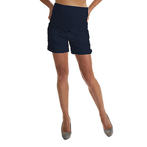 Cotton Maternity Shorts - the maternity collection