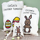 Personalised Easter Egg Hunt Bag