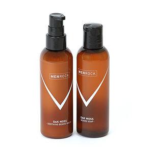 Beard Balm And Beard Soap Set - men's grooming & toiletries