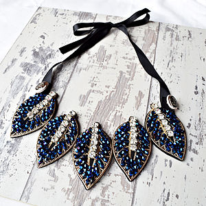 Leaf Statement Necklace - statement necklaces