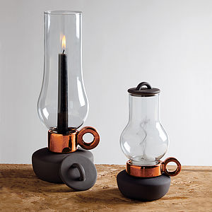 Tea Light Or Candle Lantern - candlesticks
