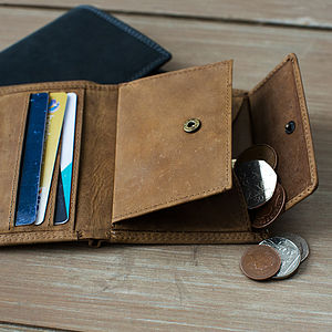 Vintage Leather Wallet - purses & wallets