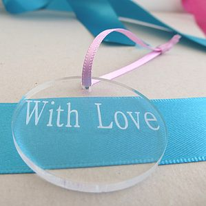 Personalised Wedding Favour Tag