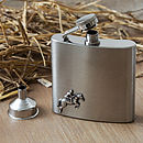 Horse Jumping Hip Flask