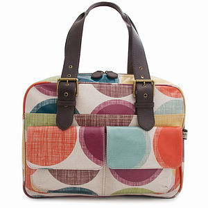 Big Spot Box Tote - shoulder bags