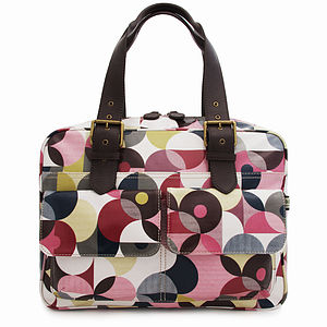Spot Deconstruct Box Tote - shoulder bags