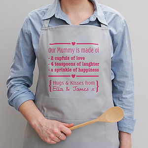 Personalised Mummys Are Made Of Apron - home sale