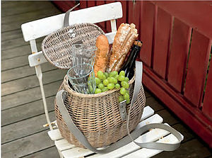 Willow Picnic Basket - picnic hampers & baskets