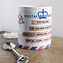 Personalised Telegram Mug