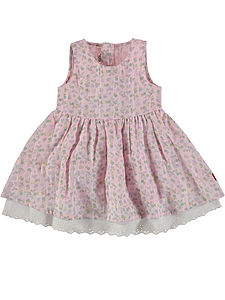 Hesanne Pink Floral Spencer Dress - dresses for children