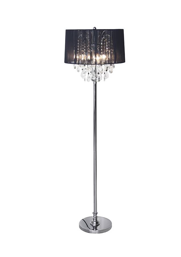 Crystal chandelier floor lamp by made with love designs ltd crystal chandelier floor lamp aloadofball Image collections