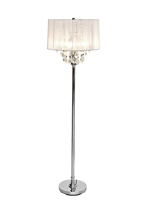 crystal chandelier floor lamp by made with love designs ltd ...