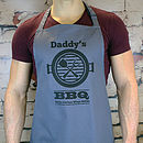 Personalised Printed Bbq Apron