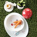 Bunny Honey Toadstool Egg Cup With Lid