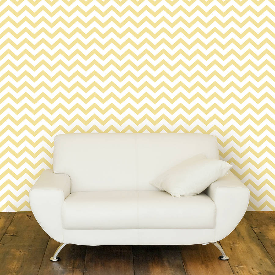 Contemporary Chevron Self Adhesive Wallpaper By Oakdene