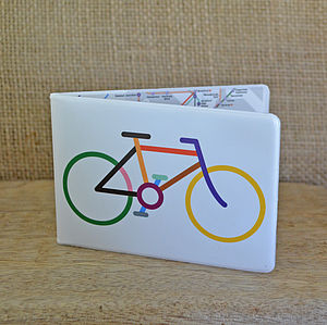 Bicycle Travel Wallet - passport & travel card holders