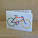 Bicycle Travel Wallet