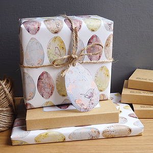 Bird's Egg Gift Wrap - wrapping paper
