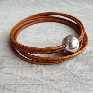 Leather Mallory Bracelet