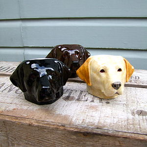 Labrador Egg Cup - easter homeware