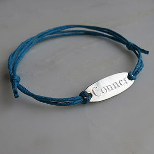 Name Tag Bracelet - women's jewellery