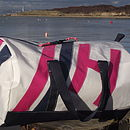 Personalised Bembridge Sailcloth Sports Bags