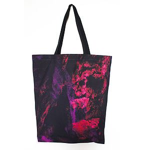 Ionic Age Graphic Pink Bag