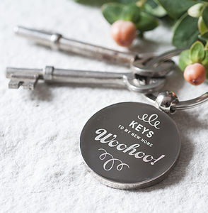 New Home Key Ring - new home gifts