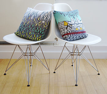 Geometric 'Alps' Designer Cushion + Waterproof