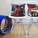 60's Retro Pop Designer Cushion + Waterproof