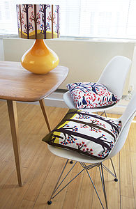 Spring 'Woodlands' Designer Cushion + Waterproof - cushions
