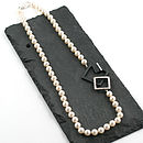 Bridesmaid wedding gift necklace