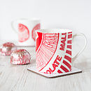 'Tunnock's Teacake' Set Of Two Mugs