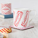 'Tunnock's Caramel Wafer' Set Of Two Mugs