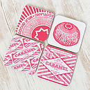Tunnock's Mixed Set Of Four Coasters