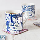 'Scottish Breakfast' Set Of Two Mugs