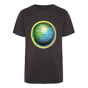 'Football' Organic T Shirt
