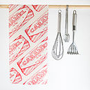 Tunnocks Caramel Wafer Tea Towel