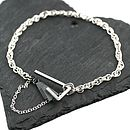 Silver Art Deco Diamond Bracelet