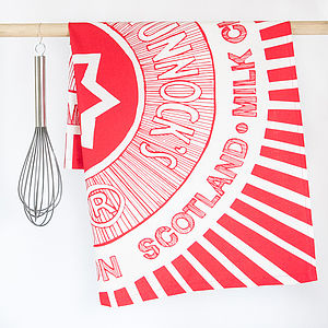 Tunnocks Teacake Tea Towel - tea towels