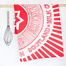 'Tunnocks Teacake' Biscuit Tea Towels