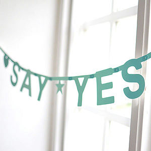 Personalised Make Your Own Phrases Garland 127 Pcs - home accessories