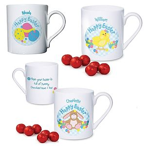 Personalised Easter Mug And Chocolates - easter treats