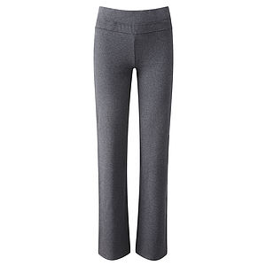 Organic Cotton Bootcut Yoga Pants - women's fashion