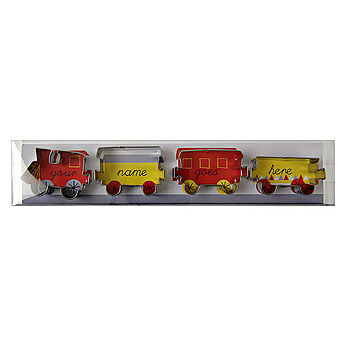 Train Set Cookie Cutters