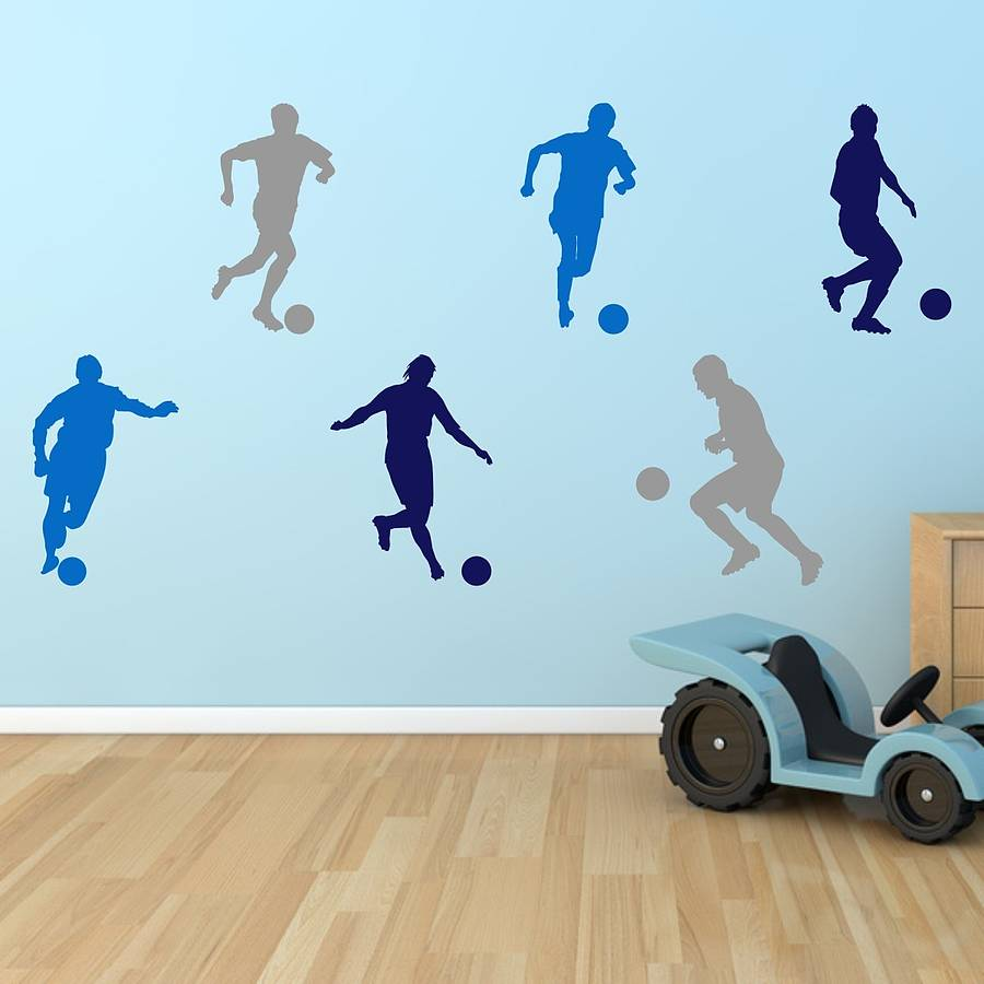 Wall stickers football images home wall decoration ideas football boys wall stickers by mirrorin notonthehighstreet football boys wall stickers amipublicfo amipublicfo Gallery