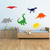 Dinosaurs Kids Wall Stickers - gifts for babies & children