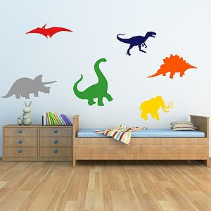Dinosaurs Kids Wall Stickers - bedroom
