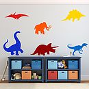 Dinosaurs Kids Wall Stickers