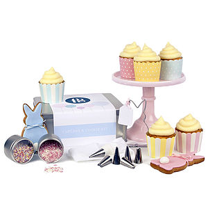 Cupcake And Cookie Kit Easter Bunny - baking kits